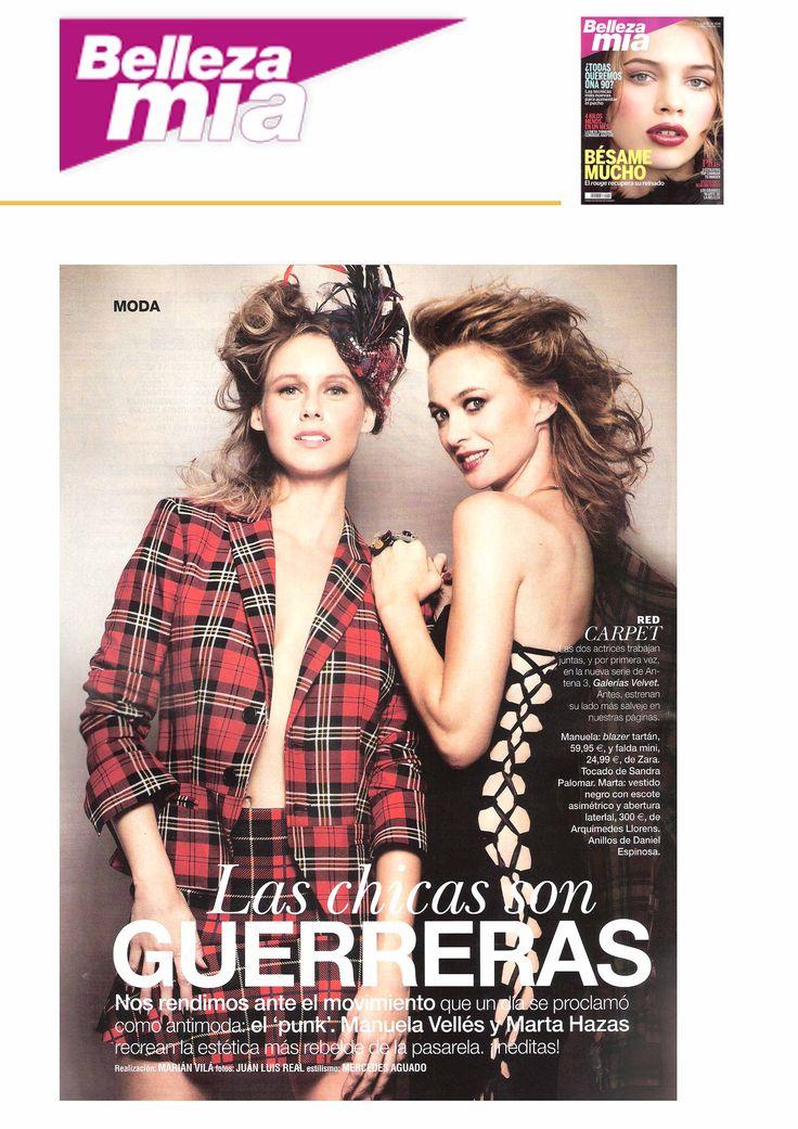 Arquímedes Llorens en la revista BELLEZA MIA de octubre. ¡Ya está en el quiosco!