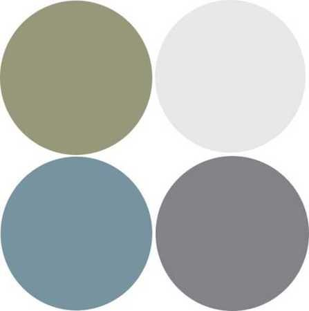 Modern Interior Design, 9 Decor and Paint Color Schemes that Include Gray | http://my-working-design-collections.blogspot.com