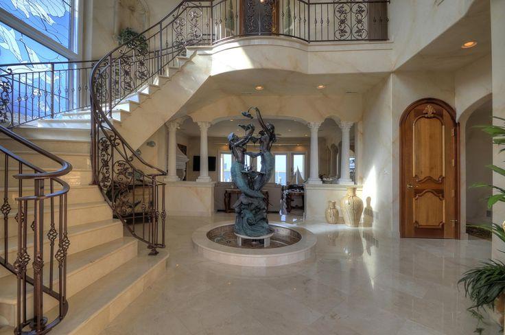 House Foyer Features : Best images about impressive entrances on pinterest
