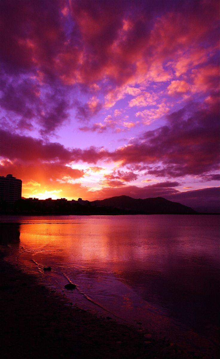 sunset Cairns, Australia