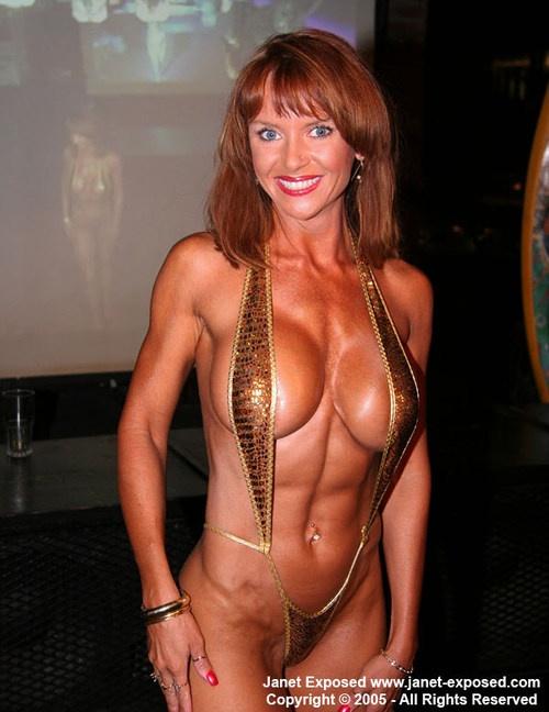 With Paige mcfarland janet mason fitness