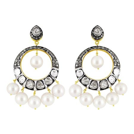 #victorian #chandbalis only at #jpearls. Aren't they just #lovely? check them out at www.jpearls.com