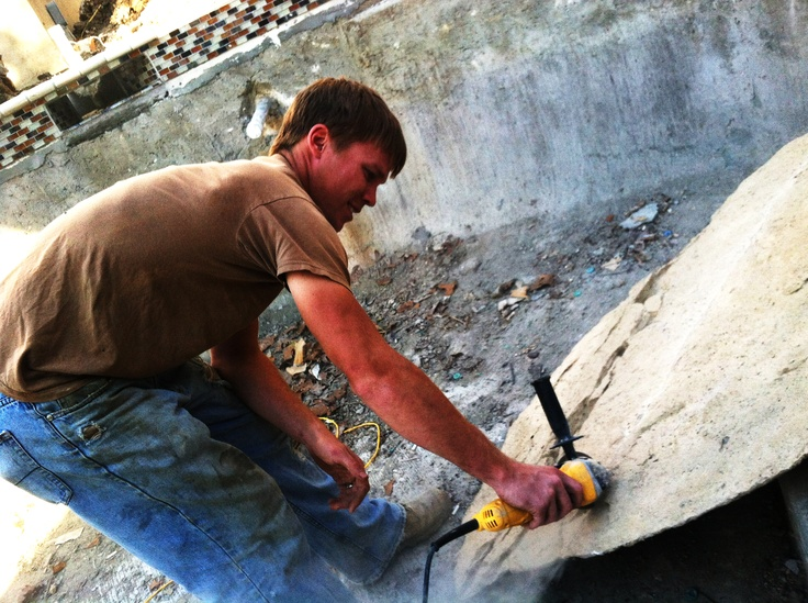 Custom fabricating the panels. #Clifrock #fabricating