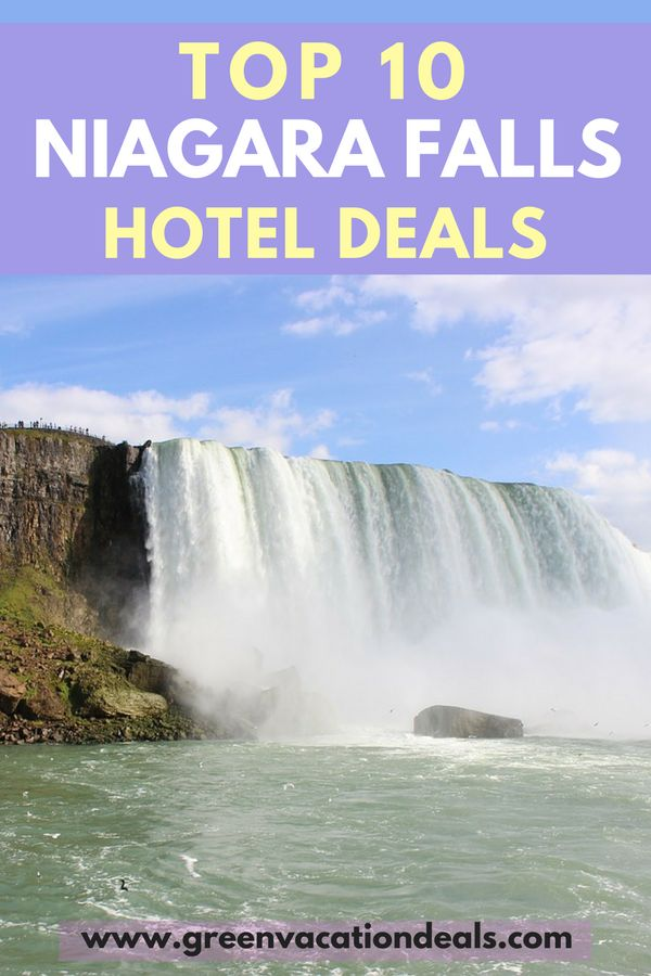 Niagara Falls Hotels - Want to take a trip to Niagara Falls? Find out the Top 10 Niagara Falls hotel deals! Save money on your Niagara Falls vacation. Niagara Falls Travel Tips. #NiagaraFalls #ExploreNiagara #Falls #Casino #Ontario #Canada #USA #NewYork #NY #US #Vacation #Hoteldeals #Travel #Tourism #Trip #Niagara #Traveldeals #Traveltips #cheaphotels #Cheaptravel