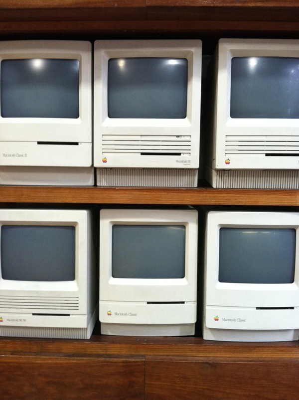 Apple computers back-in-the-day :)