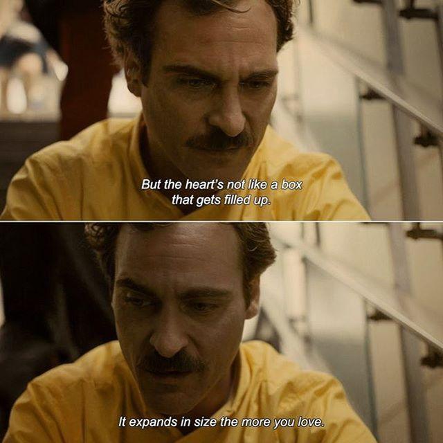 Her (2013) directed by Spike Jonze with Joaquin Phoenix, Amy Adams, Scarlett…
