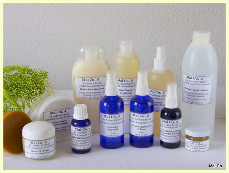 Mai Co's Baby Range Lavender Glycerine Soap, Olive Oil Cream, Baby Massage Oil, Baby Powder, Lavender & Chamomile Hydrosol, Baby Wash Gel, Gentle Shampoo, Lavender Linen Spray, Lavender & Aloe Gel, Baby Insect Repellent, Laundry Rinse.....lovely 'green products to use on the little angels of the family!