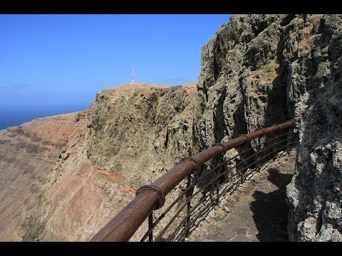 Places to see in ( Lanzarote - Spain )  Lanzarote one of the Canary islands off the coast of West Africa administered by Spain is known for its year-round warm weather beaches and volcanic landscape. Timanfaya National Parks rocky landscape was created by