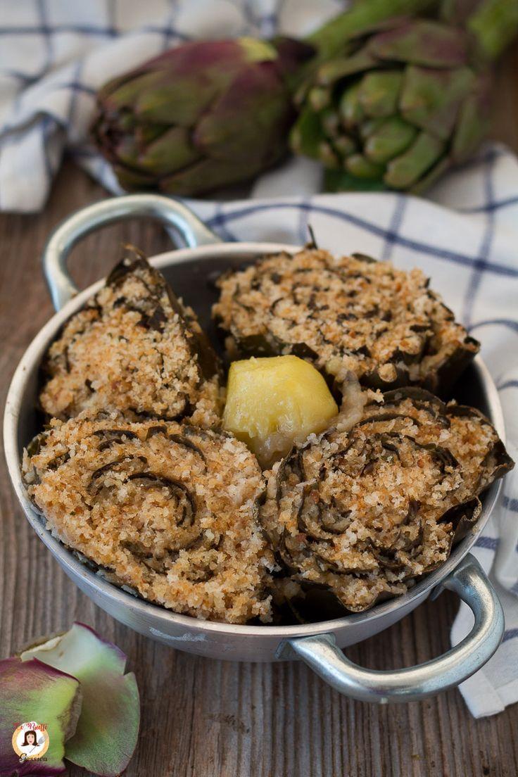 Carciofi ripieni alla siciliana o caccioffuli gnini un for Piatto della cucina povera