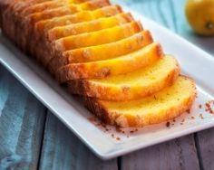 Cake au yaourt et citron (facile, rapide) - Une recette CuisineAZ