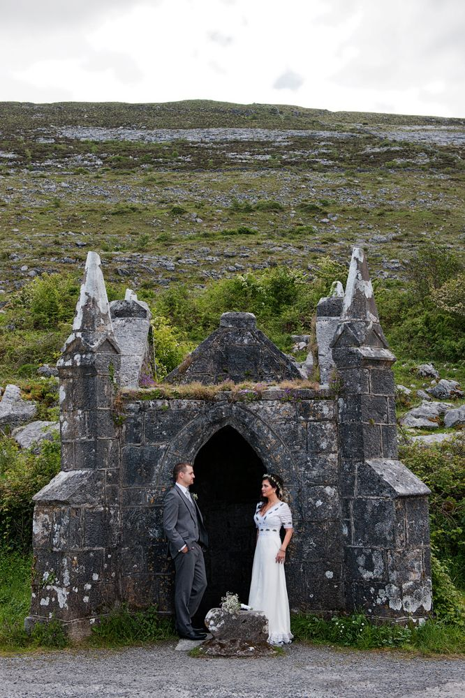 Intimate Irish wedding in Co Clare, Castle wedding Ireland  i want our beginning to lead us here, to rest our bones here, and know this will be our kid's future