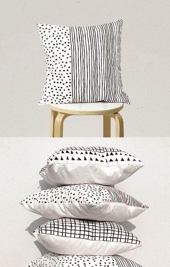 Decorative Pillow Geometric Pillow Kids by gridastudio on Etsy