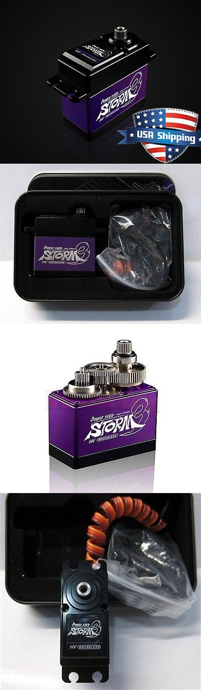 Servos and Servo Accessories 56615: Power Hd Storm-3 Aluminium Alloy Case High Voltage Digital Metal Gear Rc Servo -> BUY IT NOW ONLY: $76.9 on eBay!