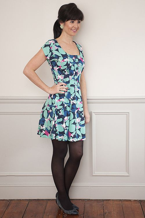 Sew Over It Doris Dress - mini hem