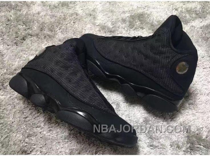 """http://www.nbajordan.com/2017-air-jordan-13-black-cat-black-anthraciteblack-for-sale.html 2017 AIR JORDAN 13 """"BLACK CAT"""" BLACK/ANTHRACITE-BLACK FOR SALE Only $93.00 , Free Shipping!"""