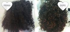 Rimedi capelli crespi fai da te - prima e dopo