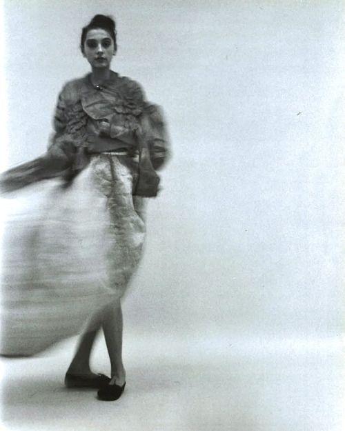 Comme des Garçons Spring/Summer 1997 photographed by Jane McLeish