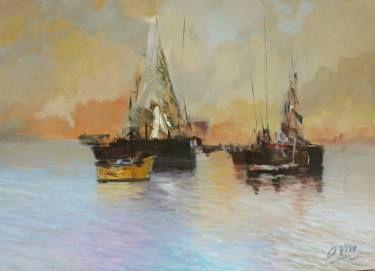 "Saatchi Art Artist Andres Vivo; Painting, ""4295  Radiance"" #art"