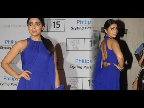 Actress Shriya Stills at LFW Winter Festive 2015