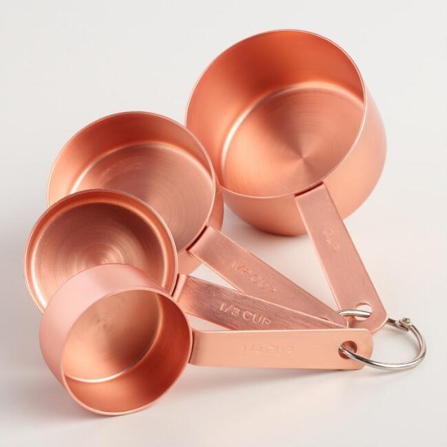 Copper Measuring Cups #afflink