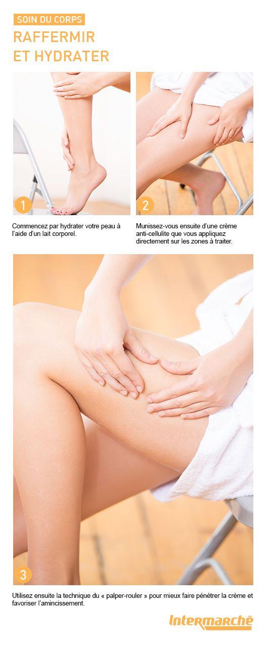 Nos bons gestes pour raffermir et hydrater votre peau afin d'éviter l'effet peau d'orange. #tutoriel #beauté #maquillage