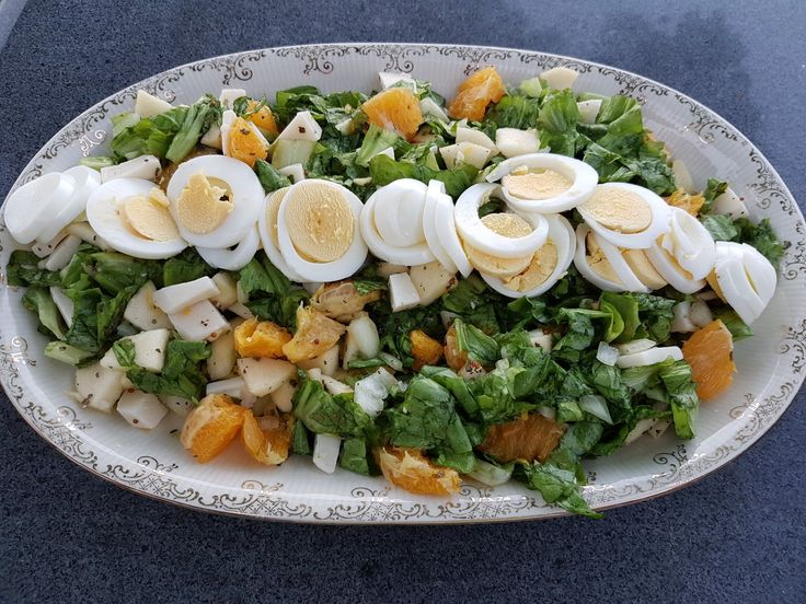 Andijvie salade / Endive salad