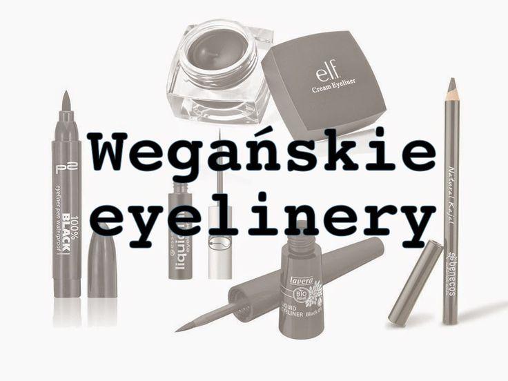 Kocieuszy   wegański styl życia: Wegańskie eyelinery i kredki do oczu