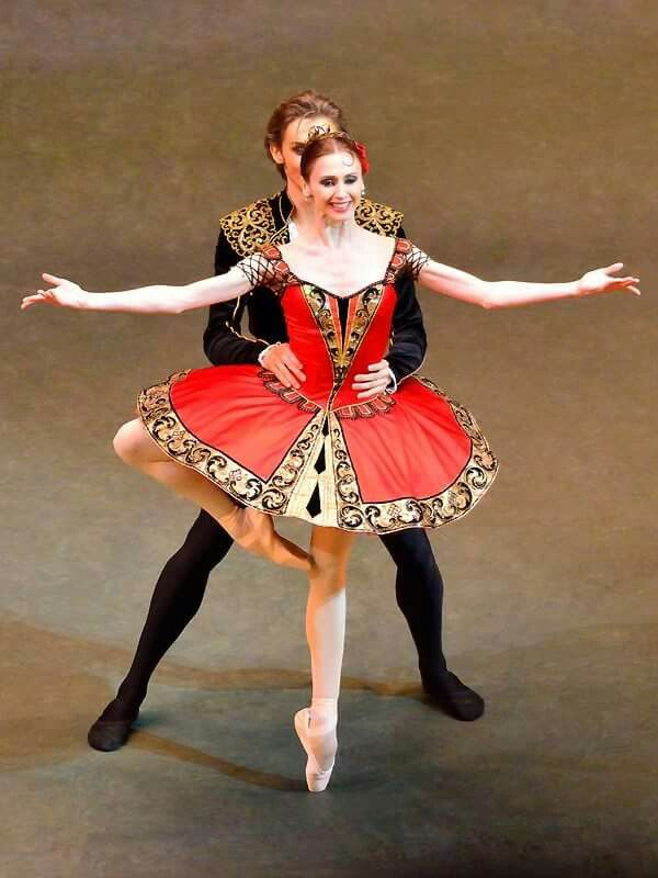 "<<Svetlana Zakharova и Denis Rodkin in ""Don Quixote"" # Bolshoi Ballet # Bolshoi Theatre of Russia #  Photo  ©  Alexander Khrolenko>>"