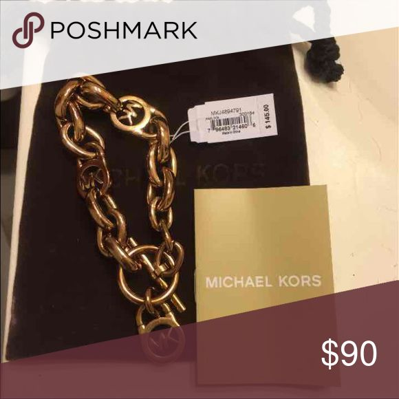 Michael kors bracelet Authentic Michael kors toggle bracelet rose gold. PRICE IS FIRM! Brand new! Michael Kors Jewelry Bracelets