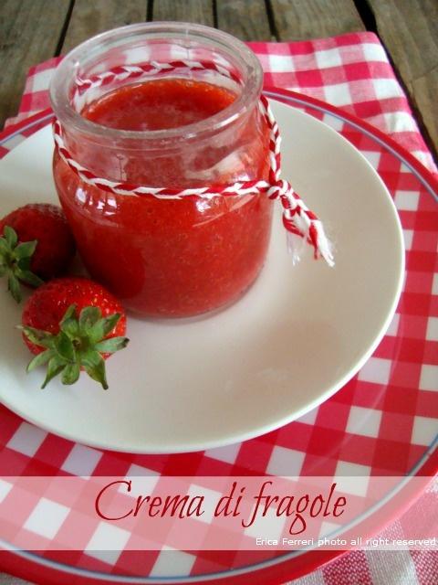 Strawberry cream - Crema di fragole