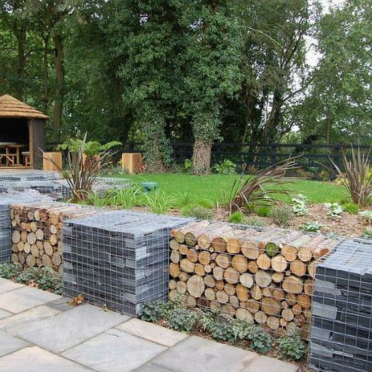 103 best gabions gabions and more gabions images on for Gabion landscaping