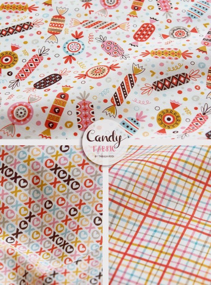 Tabula Rosi | Was Süßes: Die Candy Stoffkollektion | http://www.tabula-rosi.de