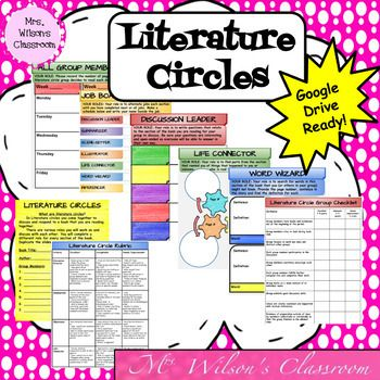 This is a Literature Circles digital interactive notebook full of graphic organizers that will help your students organize their novel study information in Google Slides. Interactive notebooks are effective in the classroom as they assist students in keeping their