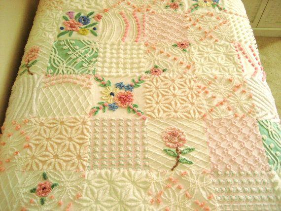 105 Best Chenille Quilt Images On Pinterest Chenille