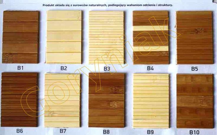 zwory maty bambusowej