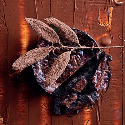 Taste Mag | Dense baked chocolate @ http://taste.co.za/recipes/dense-baked-chocolate/