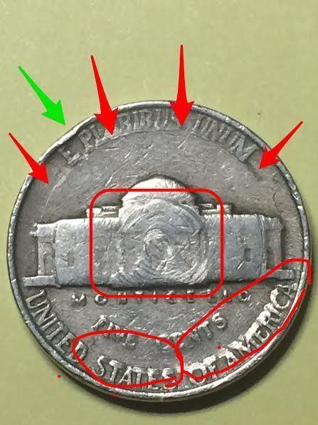 1942 Jefferson Nickel Error Coin