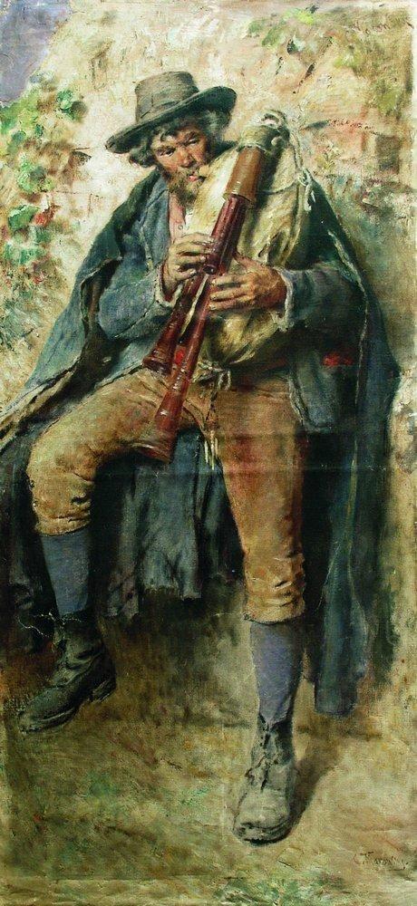 Αυλητής 1910
