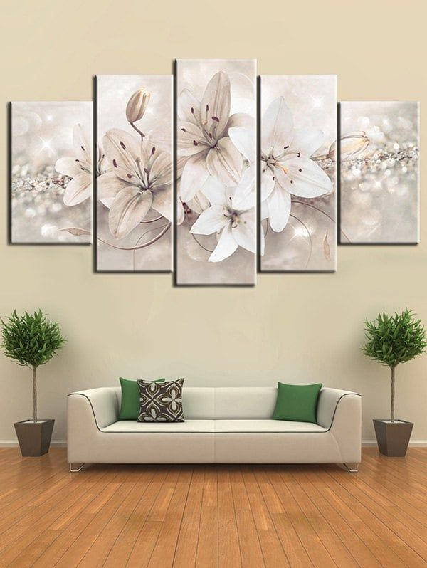 Flowers Print Unframed Canvas Paintings Canvas Painting Flower Painting Canvas Wall Canvas