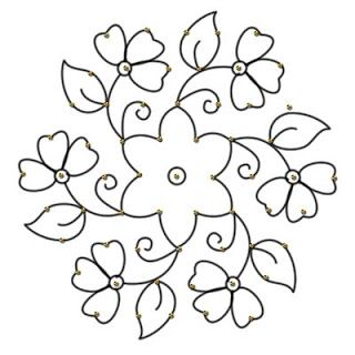 rangoli coloring pages - Google Search