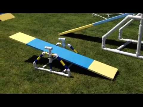 Dog agility equipment by Pet Butlers - YouTube