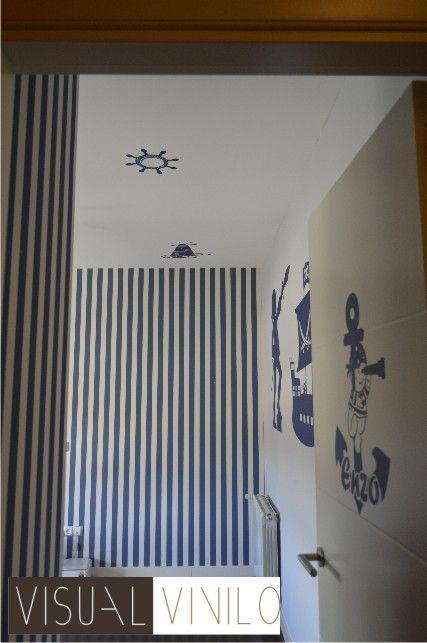 Como decorar un dormitorio infantil con vinilos decorativos