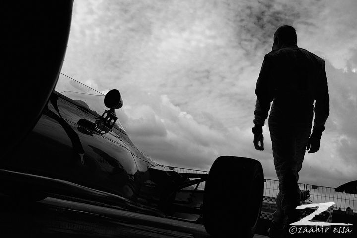 Toby Scheckter (son of Jody) about to drive his dad's Mclaren classic F1 car at Kyalami #motorsport #photography