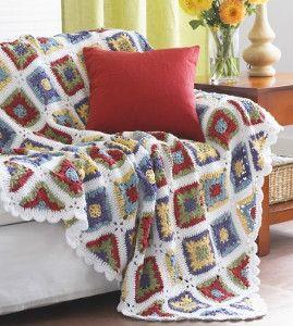 Country Charm Crochet Blanket Pattern