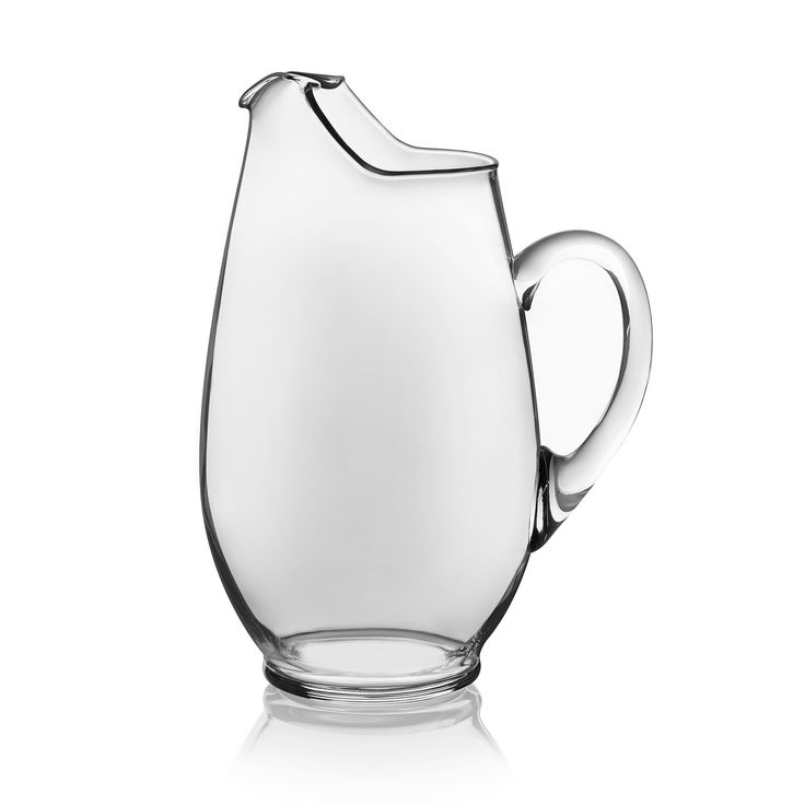 Crisa Libby Mario Glass Pitcher, Clear