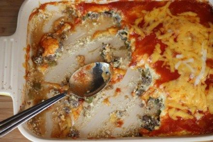 Chili Relleno Casserole ~ Love Mexican flare foods!