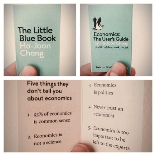 The shortest economics textbook ever via /r/funny...