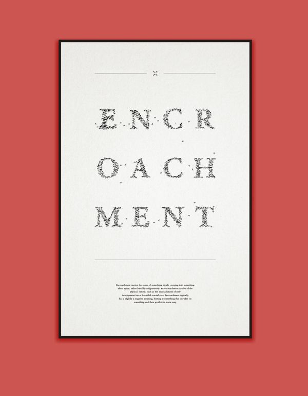 Word Experiment Poster / Spring 2014