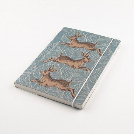 Woodland Trust Hare A5 Notebook - £8.50