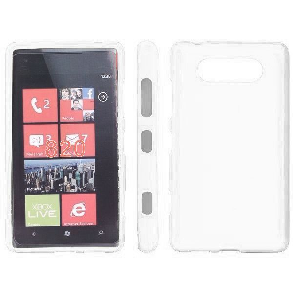 Soft Shell (Hvit) Nokia Lumia 820 Deksel